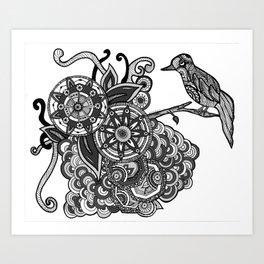 A Little Birdie Told Me So Art Print
