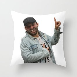 baker mayfield x Oklahoma Throw Pillow