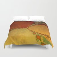 southwest Duvet Covers featuring Southwest Sunset by Artistic Home Decor