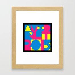 Avid RLT 2015 Deko Framed Art Print