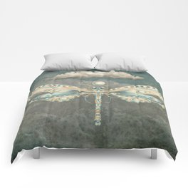 Dragonfly of the moon Comforters
