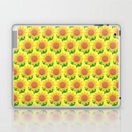 Sunflower Pattern_B Laptop & iPad Skin