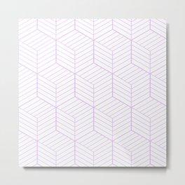 ZADA ((lilac)) Metal Print