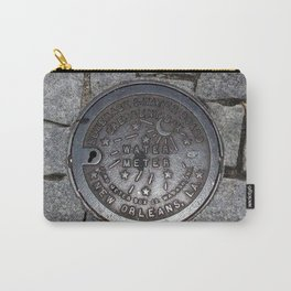 New Orleans Iron Water Utility Cover Carry-All Pouch