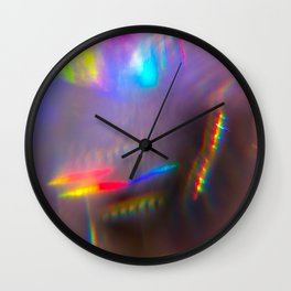 Prism Rainbows 1 Wall Clock