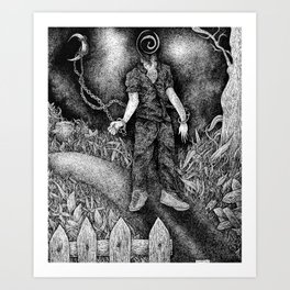 """""""Nocturnal Obedience"""" Art Print"""