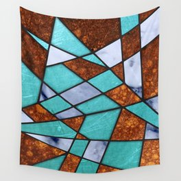 #477 Marble Shards & Copper Wall Tapestry