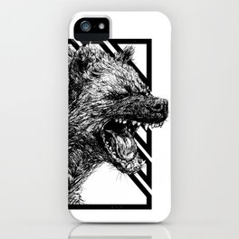 The Laughing Hyena iPhone Case