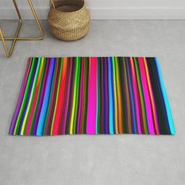 Technicolor LED Sculpture Light Painting Rug