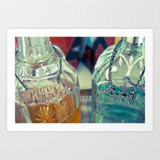 drink on Art Print