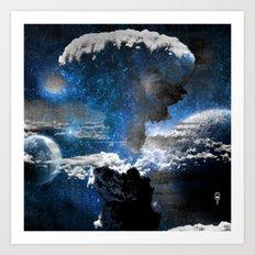 Nuclear Spaceout Art Print