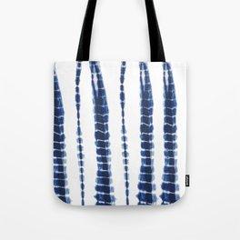 Indigo Blue Tie Dye Delight Tote Bag