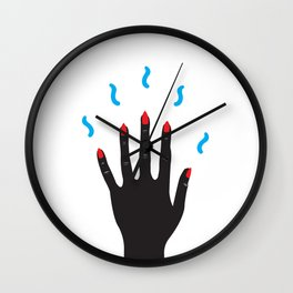 Magic Spellz 2 Wall Clock
