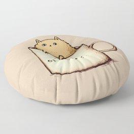 Mog of Coffee Floor Pillow