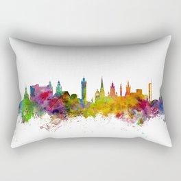 Glasgow Scotland Skyline Cityscape Rectangular Pillow