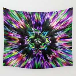 Colorful Tie Dye Abstract Wall Tapestry