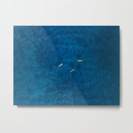 kayak views Metal Print