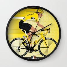 France Yellow Jersey Wall Clock