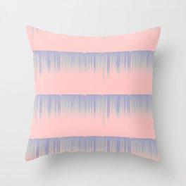Drip Stripe Throw Pillow