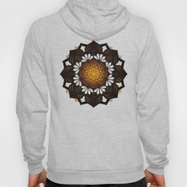 """Warm light Moroccan lantern Mandala"" Hoody"