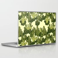 cacti Laptop & iPad Skins featuring Cacti by Lburleighdesigns