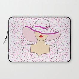 Fashion Portrait Laptop Sleeve