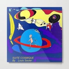 Suite Cosmique by Louis Sauter         Art by Lipton Metal Print
