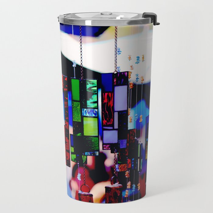 Glass Wind Chimes Travel Mug