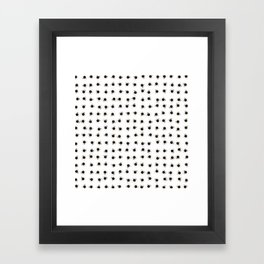 Coffee cups / 3D render of hundreds of cups of coffee Framed Art Print