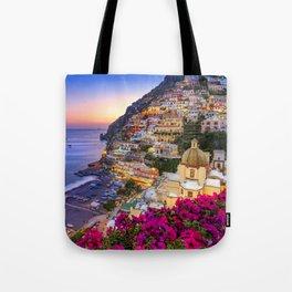 Positano Amalfi Coast Tote Bag