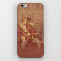 johnlock iPhone & iPod Skins featuring calm by br0-harry