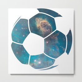 Space ball Metal Print