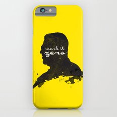 Mark it Zero –Walter Sobchak Silhouette Quote Slim Case iPhone 6s