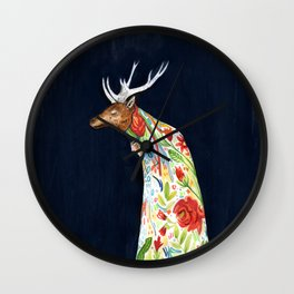 Wilder Mann - The Stag Wall Clock
