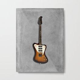 The Firebird Electric Guitar 1965 Metal Print