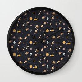 Beside Me - Illustration Wall Clock