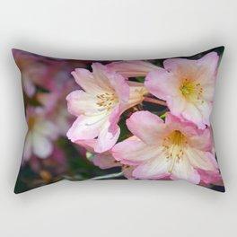 Pink azaleas beauty Rectangular Pillow