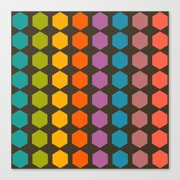 geometry game Canvas Print