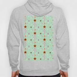 Candy cane pattern 3 Hoody
