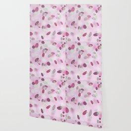 Pink coral dots Wallpaper