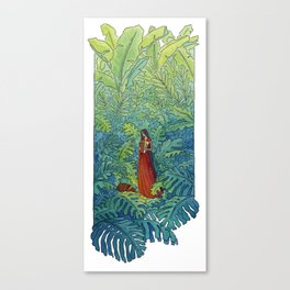 Book of Secrets Canvas Print