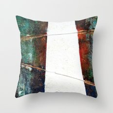 Silent Pathway Throw Pillow