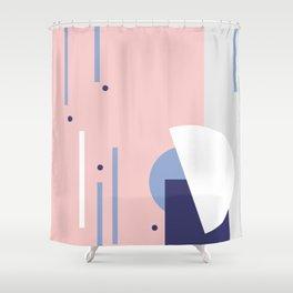 Dots it. º Rose Shower Curtain