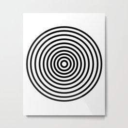 Circles Upon Circles Metal Print