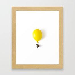 Idea Framed Art Print