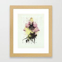 2NE1 - CL Framed Art Print