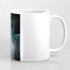 Turquoise Fractal Mug