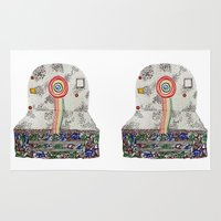 polaroid Area & Throw Rugs featuring Polaroid by monicamarcov