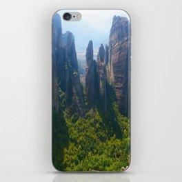 Meditation up to Meteora | Greece | Nature iPhone Skin