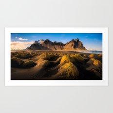 Stokksnes - Iceland | Panorama (RR136) Art Print